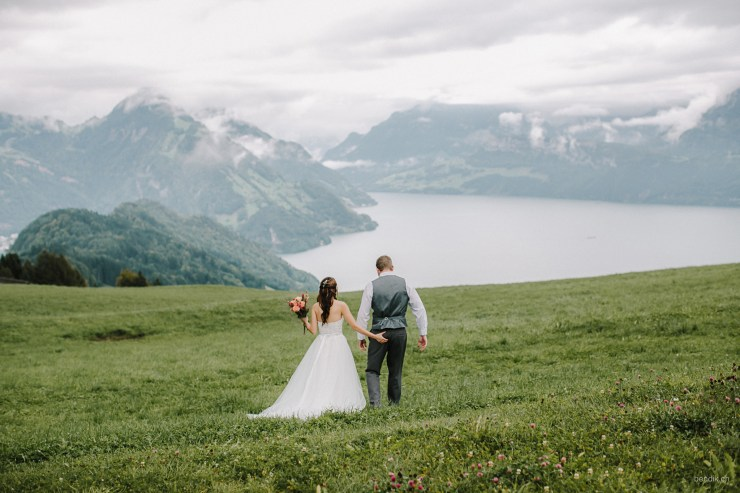Switzerland elopement photographer Bendik Photography