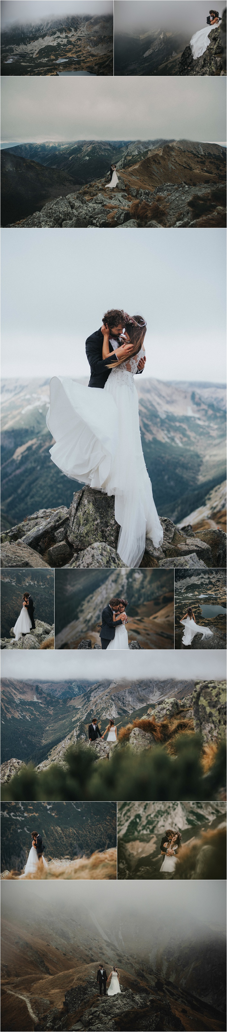 After-Wedding adventure session In The Tatra Mountains In Poland by Fotomagoria