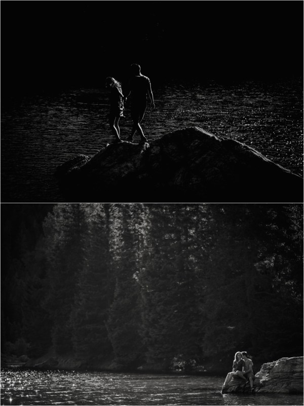 Couple adventure shoot at Lake Obernberg by Wild Connections Photography