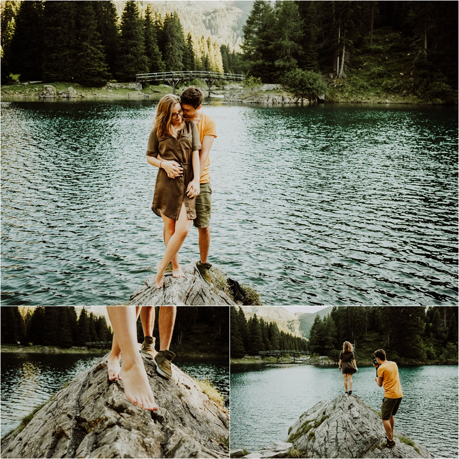 Engagement adventure session in the Austrian Alps by Wild Connections Photography