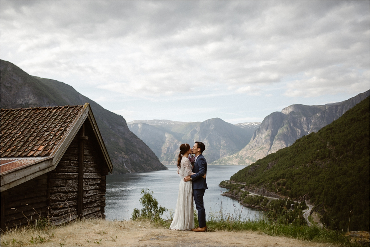 Honeymoon Shoot in Sognefjorden Norway, A Honeymoon Shoot In Sognefjorden Norway
