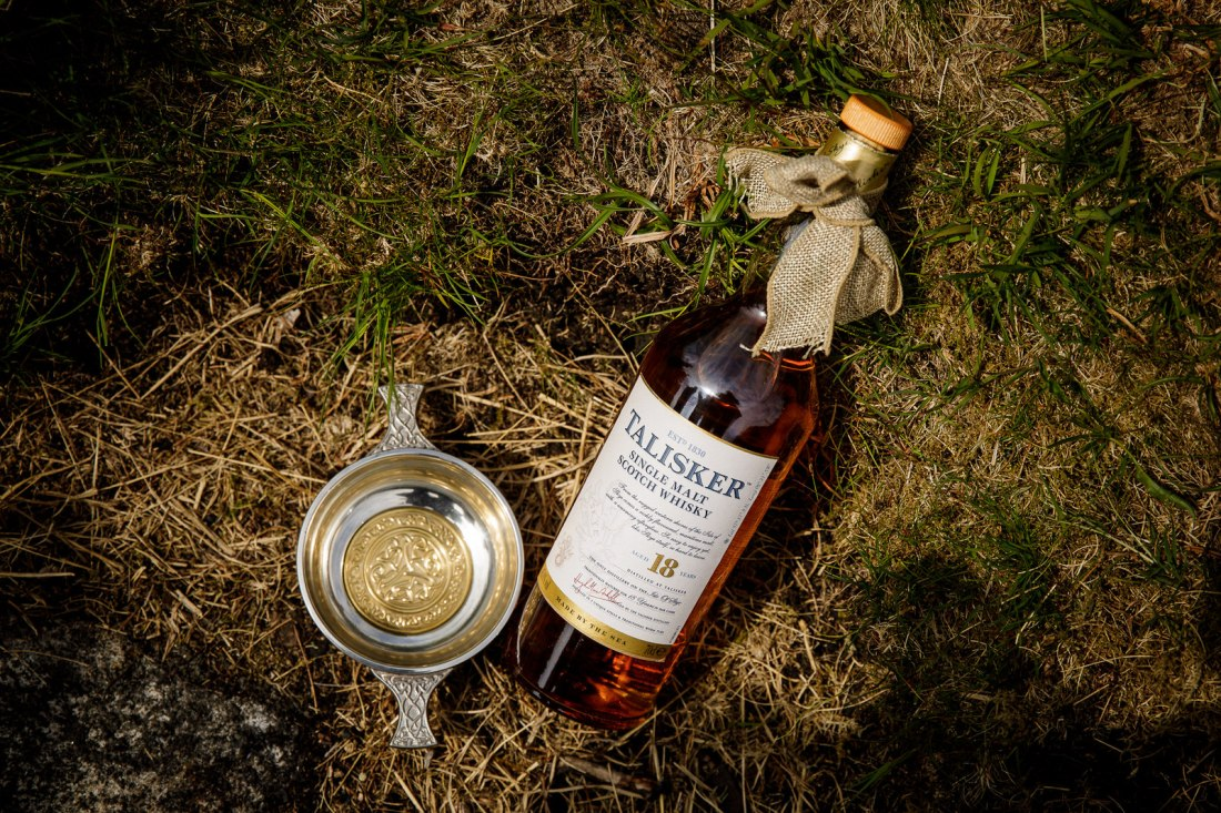 A bottle of Talisker whisky by Lynne Kennedy Photography