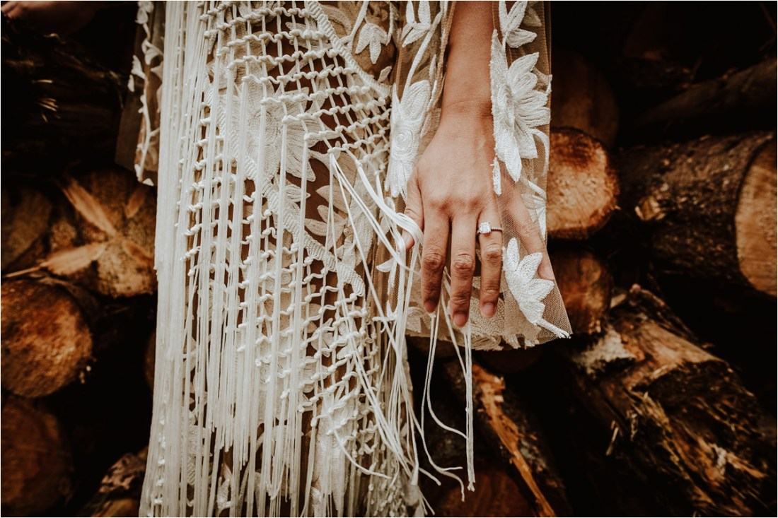 Christina's engagement ring by Wild Connections Photography
