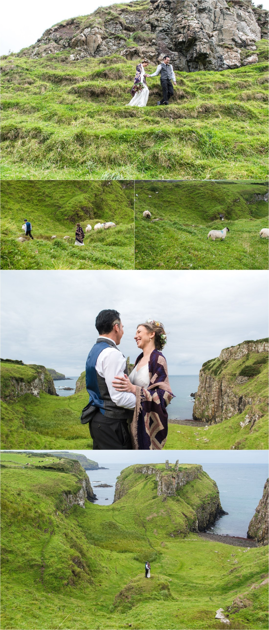 An Intimate Elopement In Northern Ireland by Collette Creative