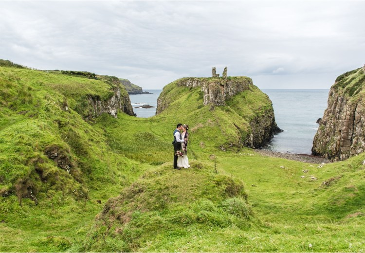An intimate elopement in Northern Ireland by Collette Creative Photography