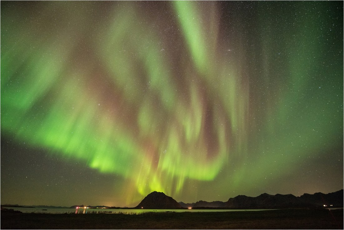Lofoten Norway Aurora Photography by Rebecca Douglas Photography