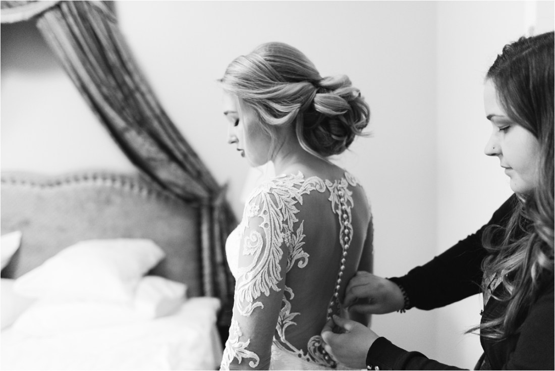 Finland winter wedding bridal preparation by Lucie Watson Photography