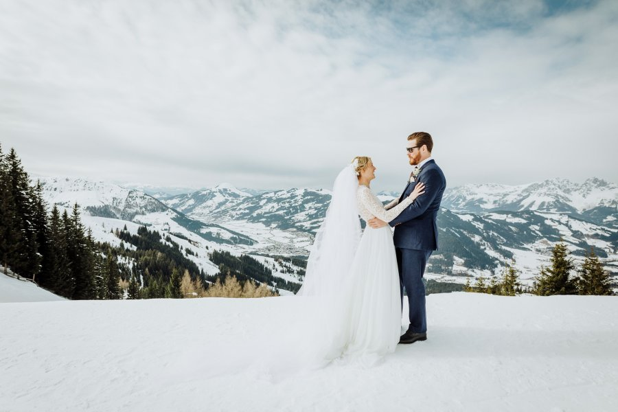 A ski wedding in Kitzbuehel Austria by Wild Connections Photography