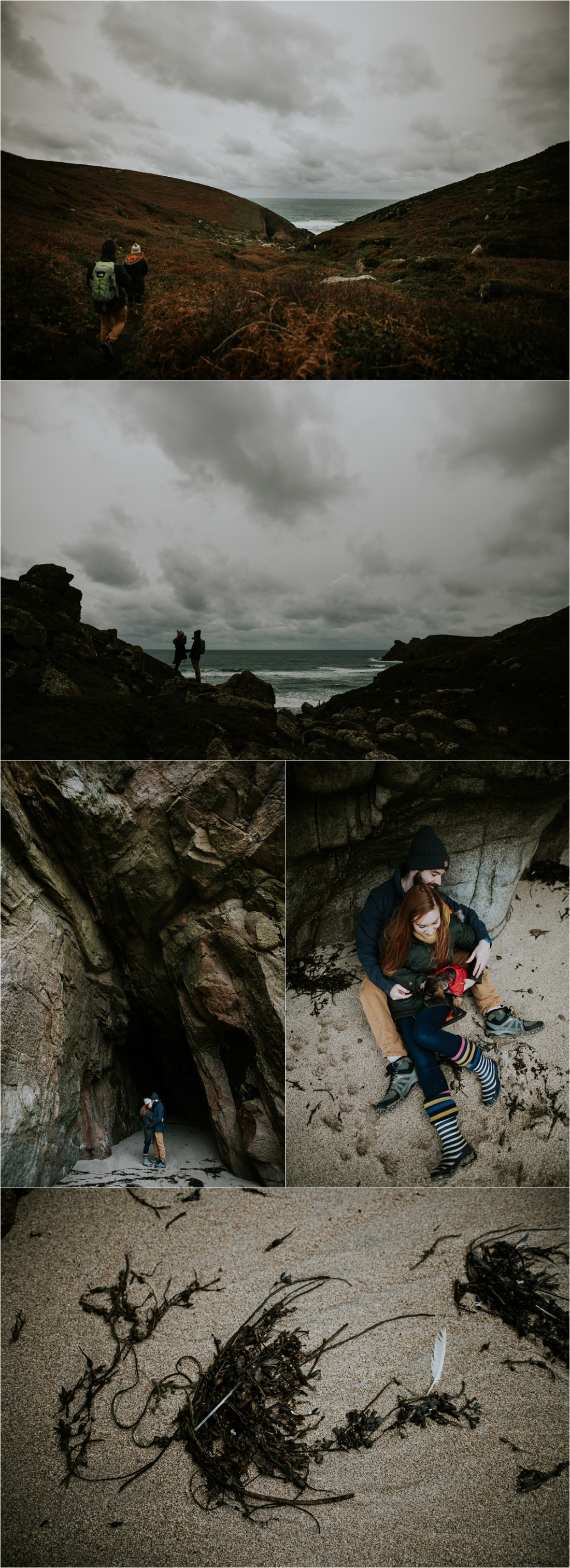 A pre-wedding shoot in Cornwall by Lucy Turnbull Photography