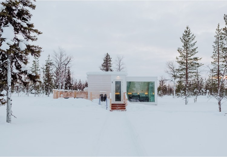 Northern Lights Ranch in Levi Finland by Ekkelboom-White Photography