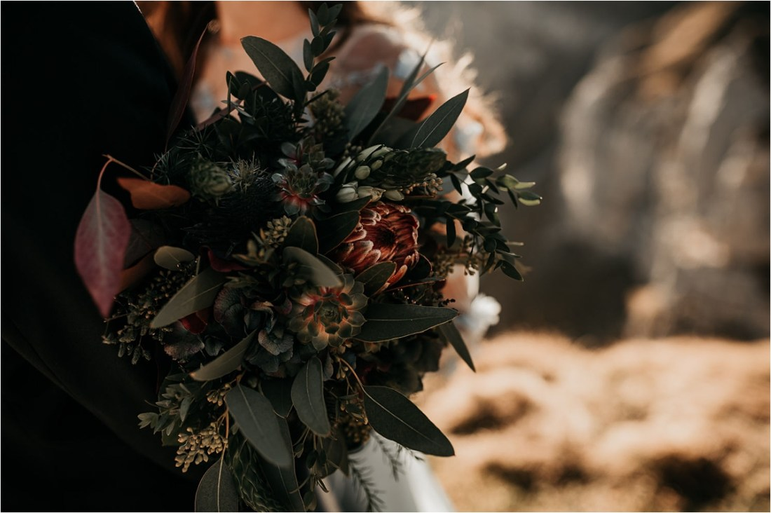 A bridal bouquet from Garmisch Partenkirchen by Aneta Lehotska
