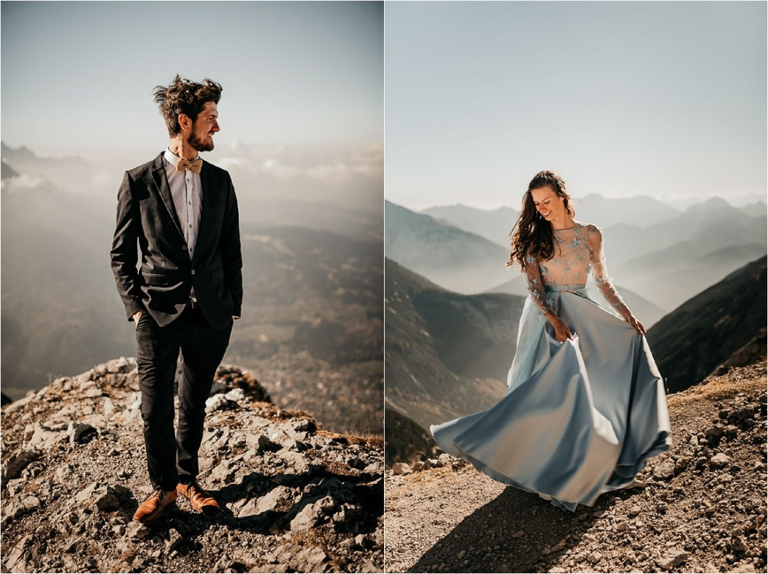 An after-wedding shoot in the Bavarian Mountains by Aneta Lehotska