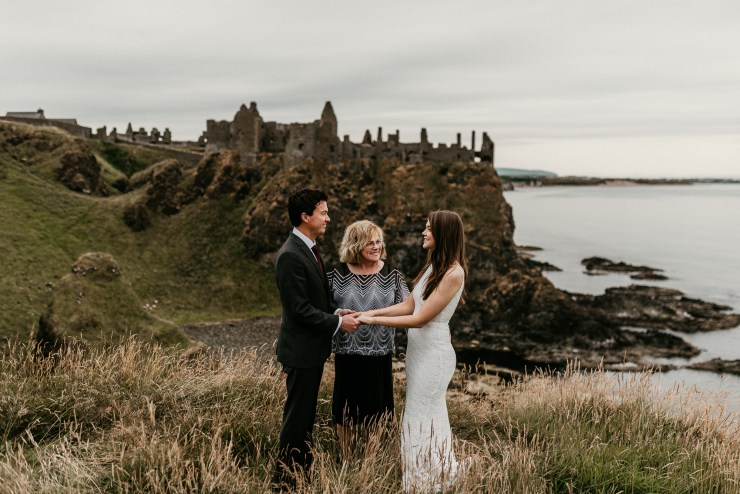 Dunluce Castle elopement LIT Photography NI