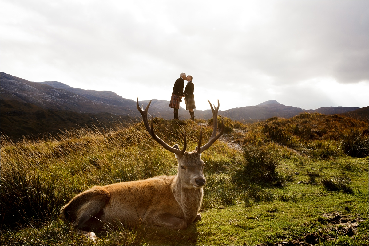 An enchanting LGBT elopement in Scotland by Lynne Kennedy Photography