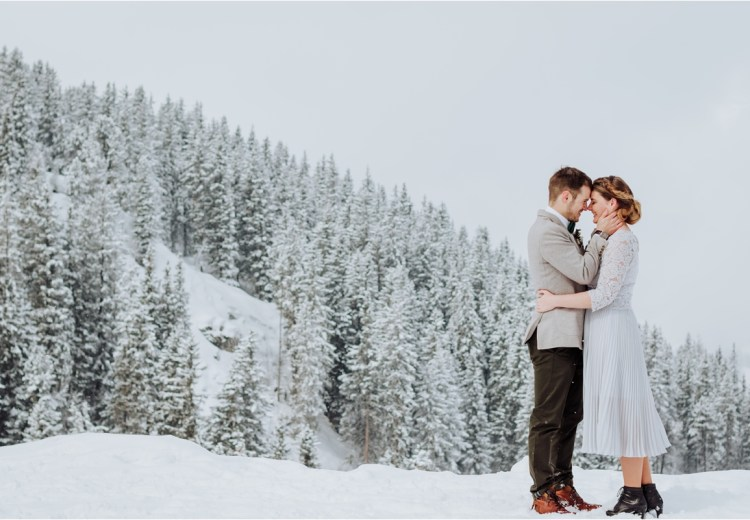 A winter elopement in Austria by Wild Connections Photography