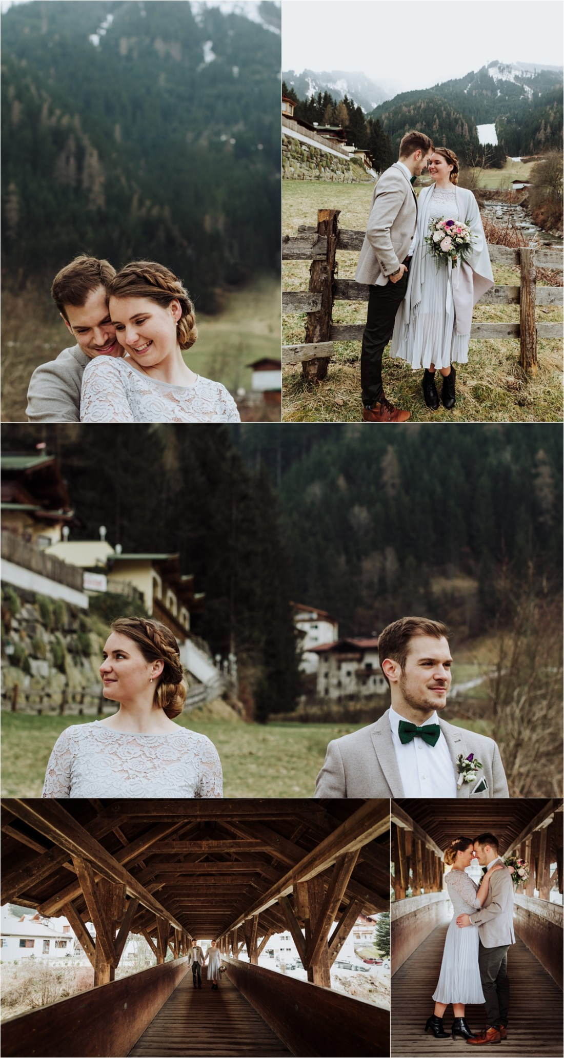Mayrhofen wedding in the spring by Wild Connections Photography