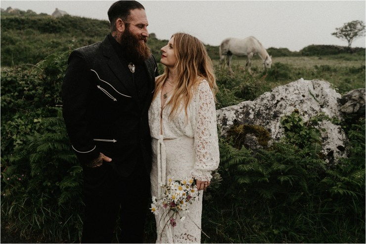 A celtic Aran Islands elopement by Emily Black Photography