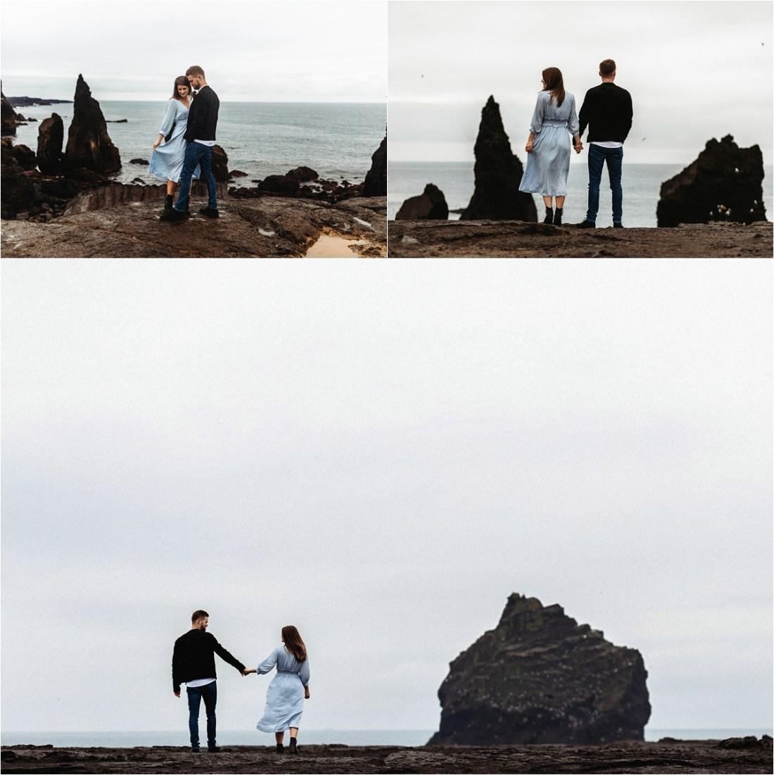 Couple shoot on the Reykjanes Peninsula by Bettina Vass