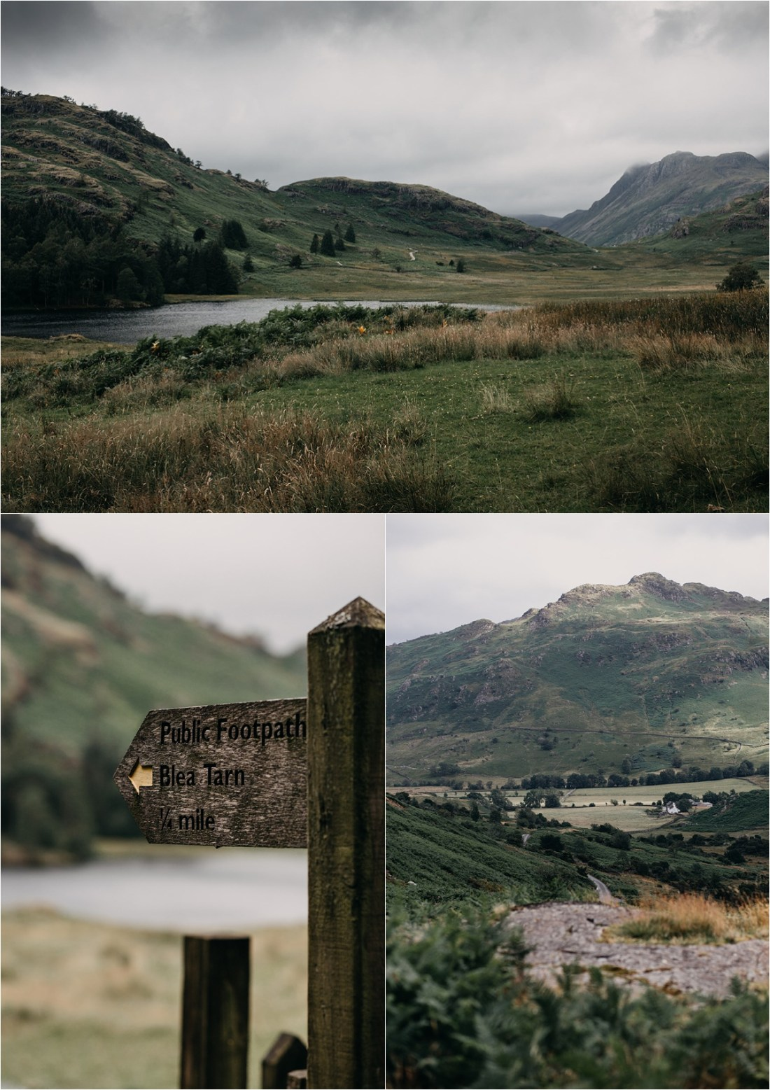 Blea Tarn in the Lake District in England. Photos by Unfurl Photography