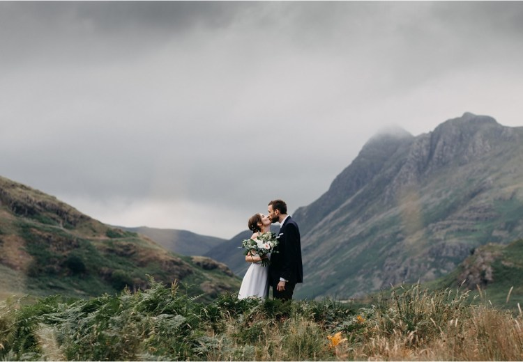 An elopement in the Lake district by Unfurl Photography