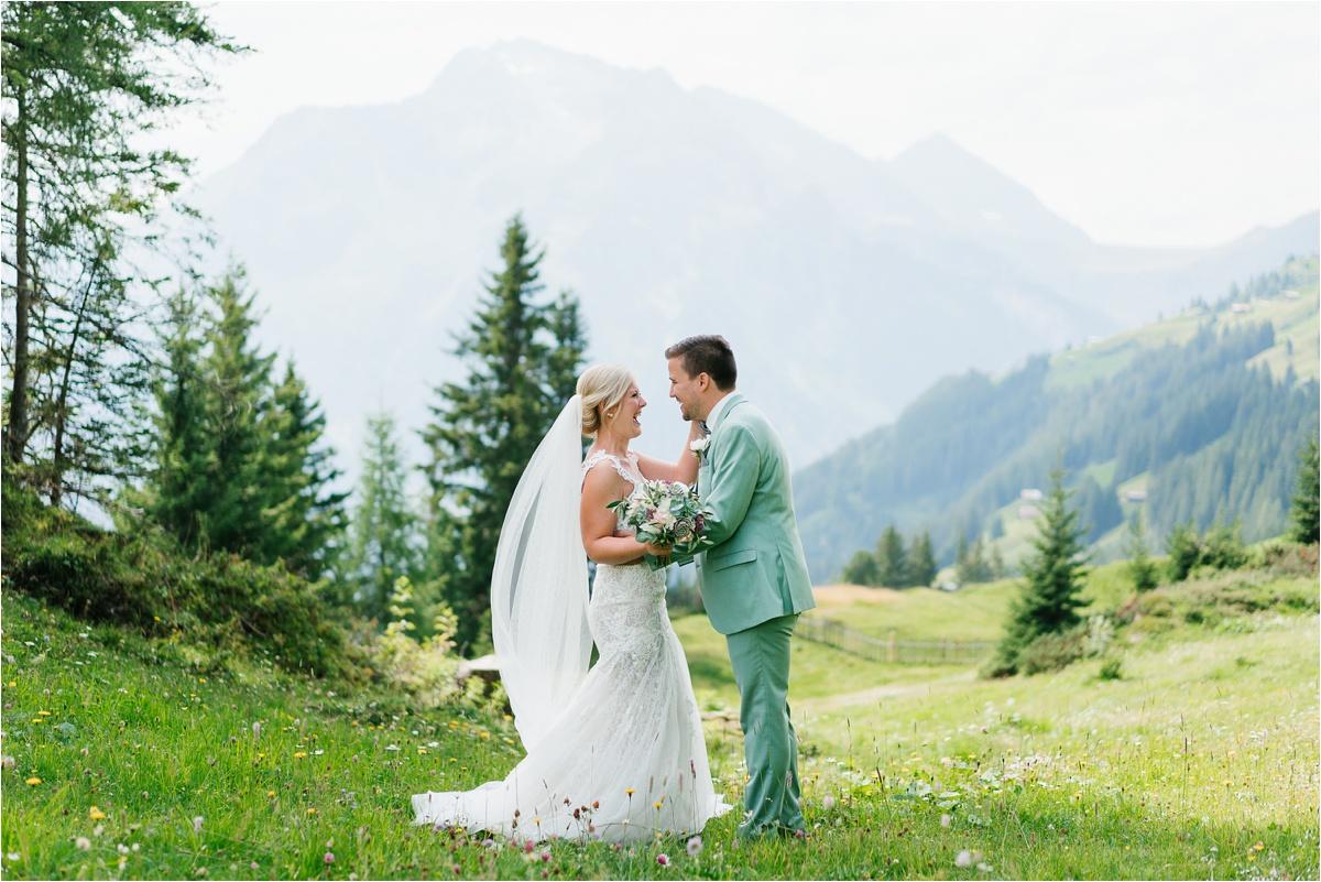 Summer wedding in Mayrhofen Austria by Aline Lange