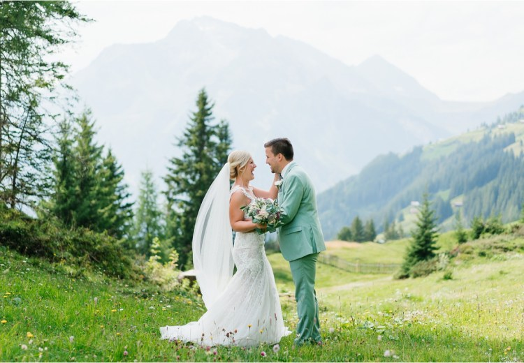 Summer wedding in Mayrhofen Austria by Aline Lange