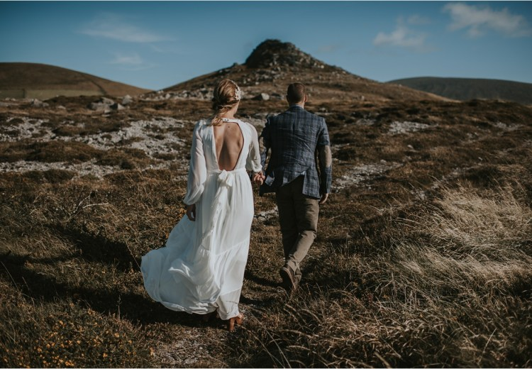 An elopement in Dingle by Louise Scott Photography