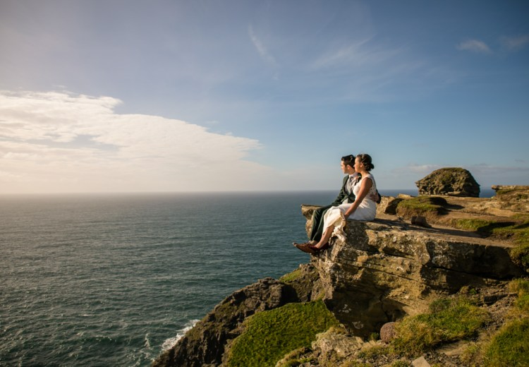 Cliff of Moher elopement in Ireland
