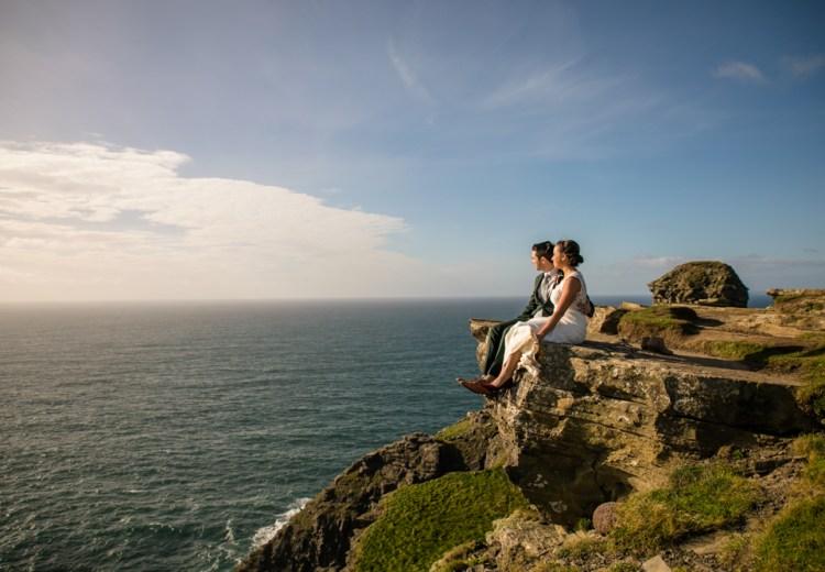 Cliff of Moher elopement in Ireland