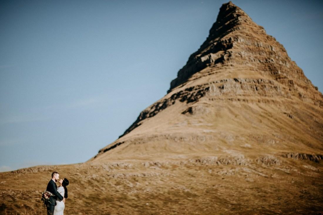 Kirkjufell Iceland Elopement, Kirkjufell Iceland Elopement