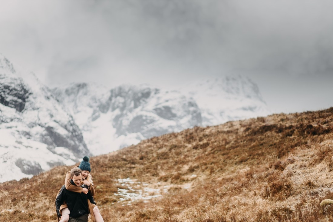 Glen Coe Engagement Session by Unfurl Photography