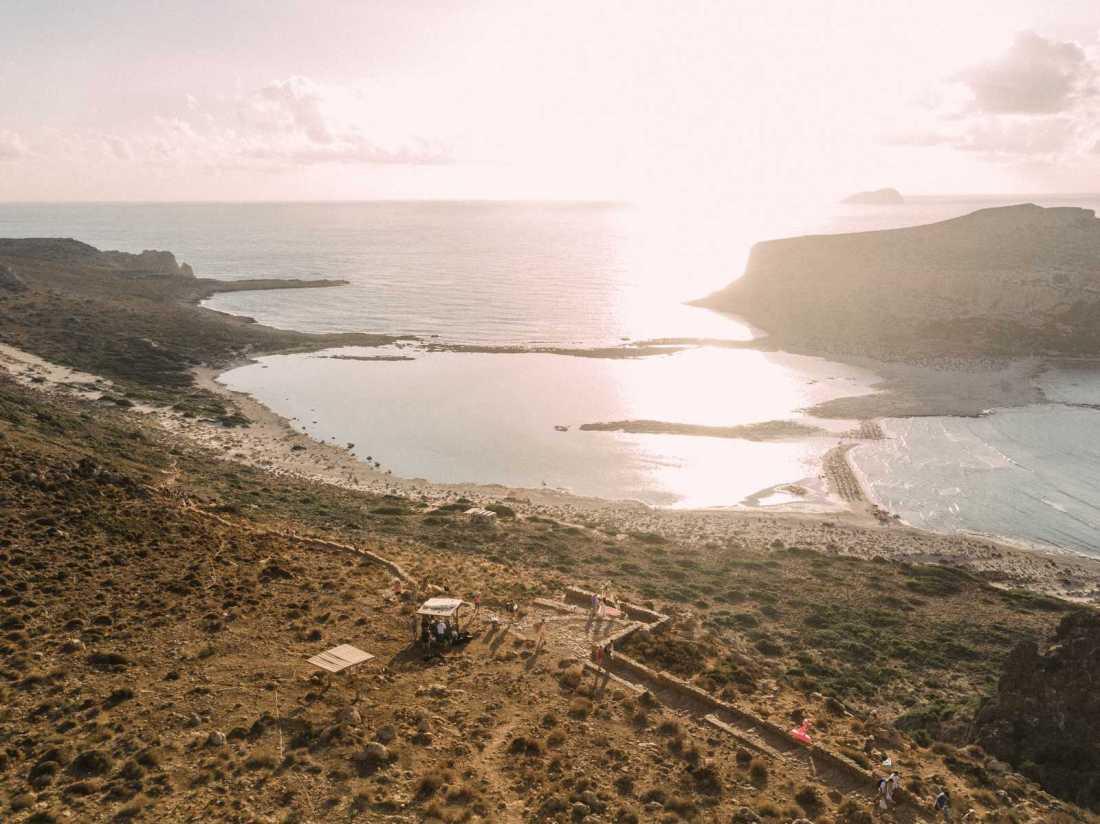 Balos Lagoon Elopement location in Crete