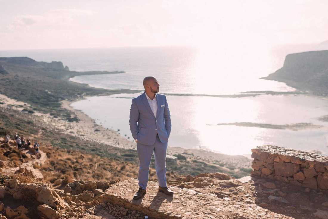 elopement in Crete, A Sailing and Hiking Elopement in Crete