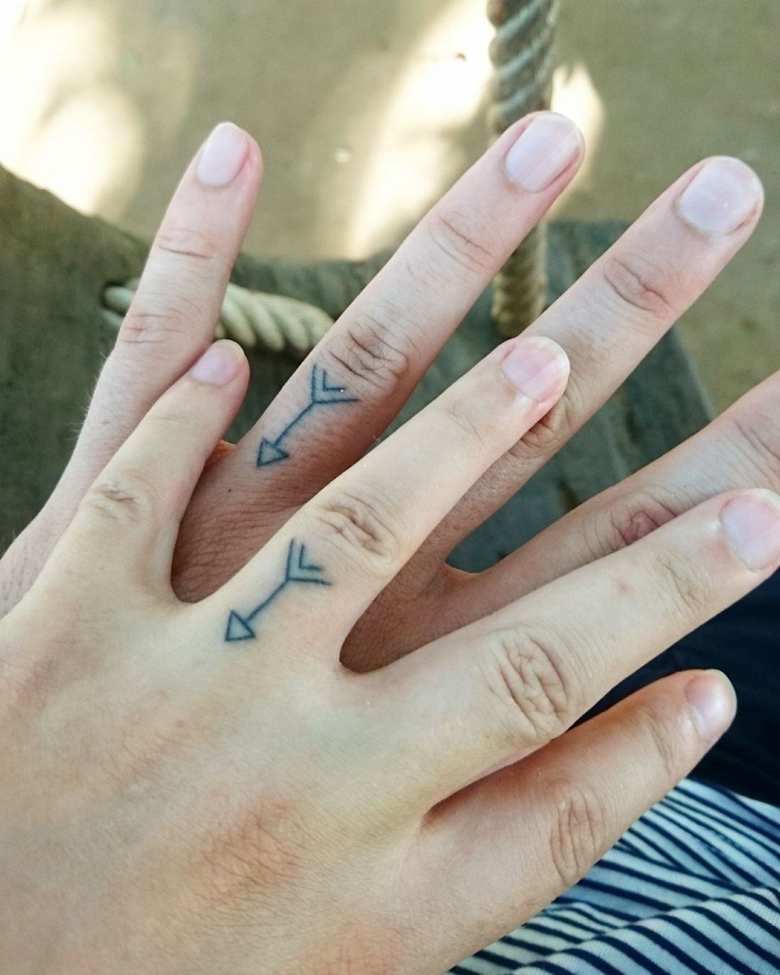 Idea for Tattoo Wedding Rings Design