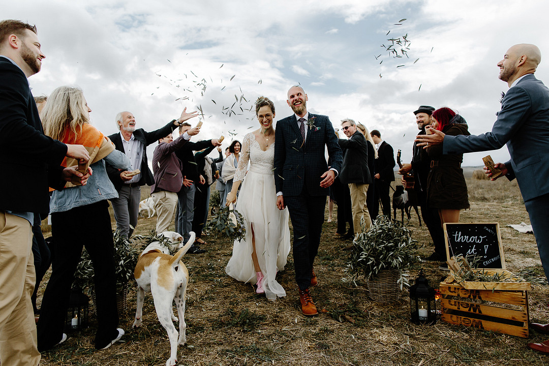 wedding in tuscany, Family-style Wedding in the Tuscan Hills