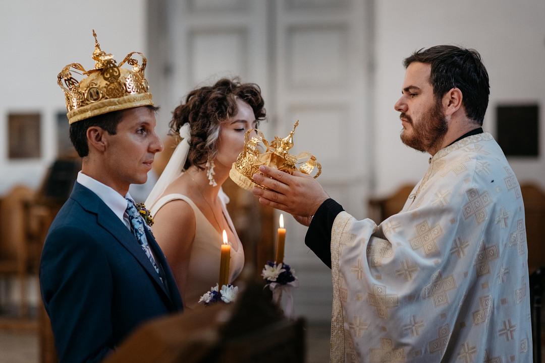 Oxthodox wedding ceremony in Montenegro