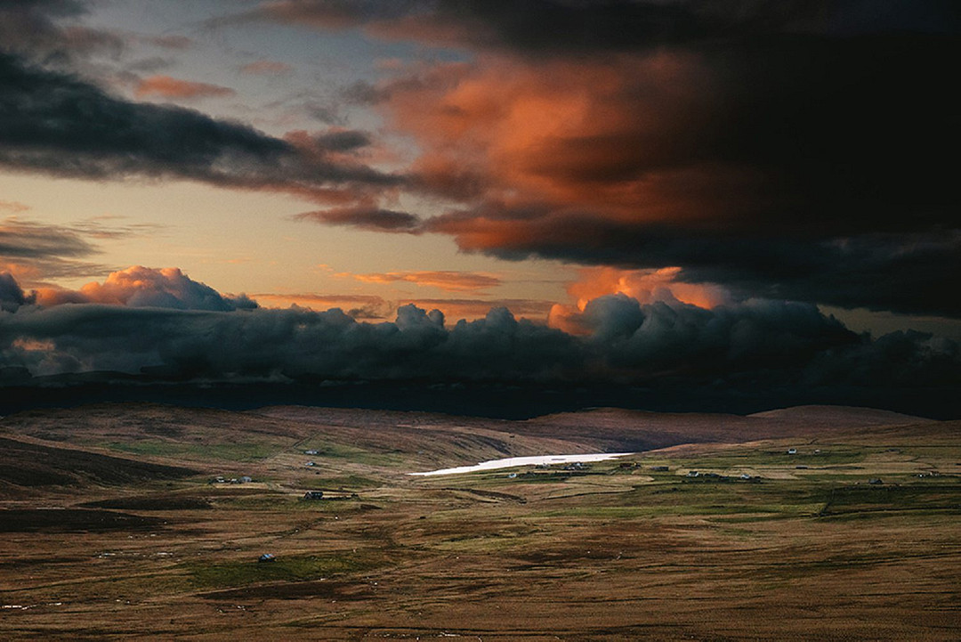 Moody Scottish landscape