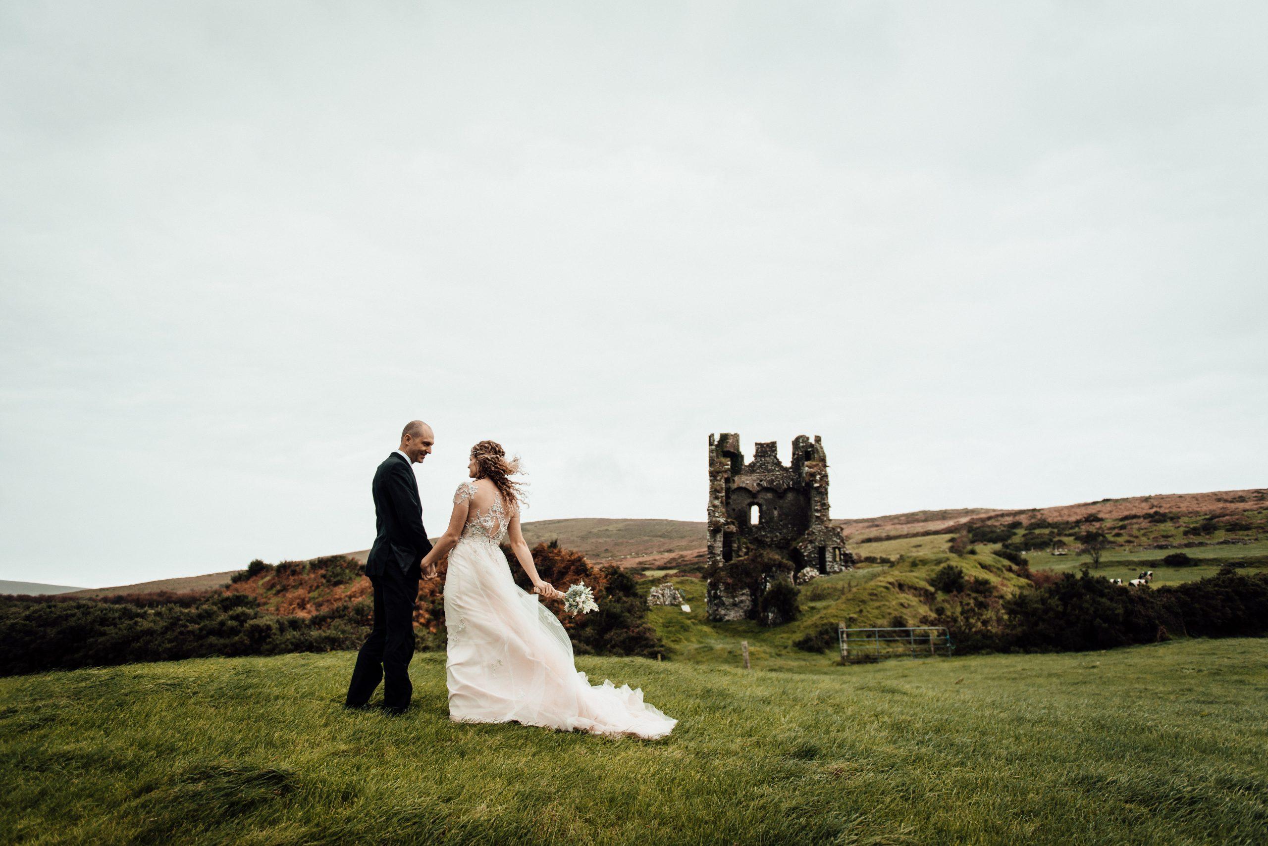 Dramatic Castle Elopement in Ireland