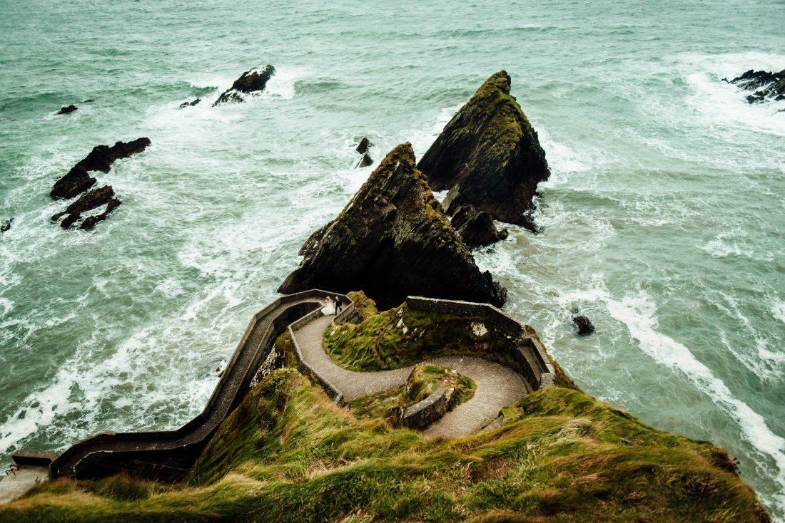 Slea Head location for an elopement in Ireland