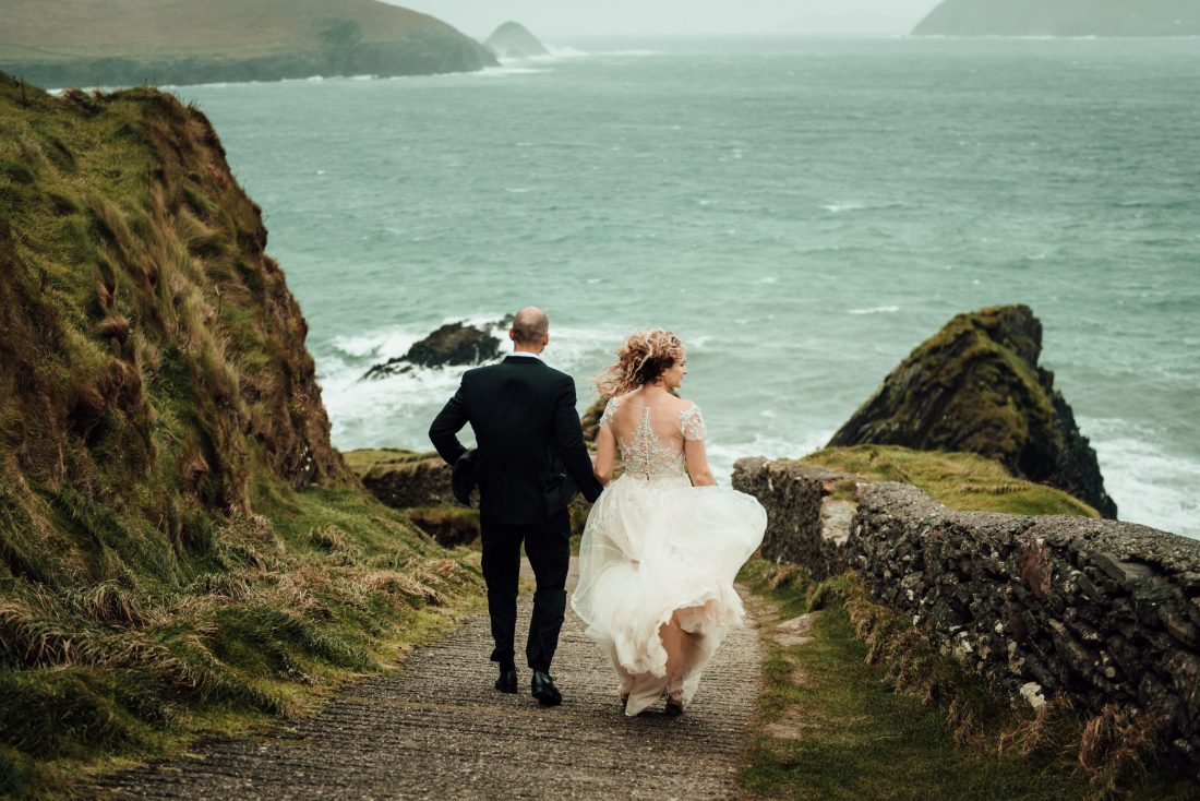 Elopement in Ireland on the Dingle Peninsula