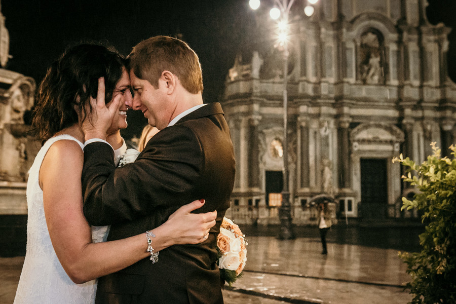 wedding in sicily, Romantic Rainy Wedding in Sicily