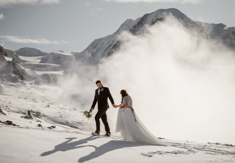 Adventurous Elopement at the Matterhorn