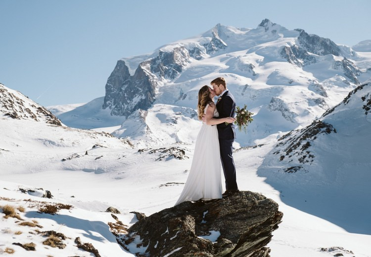 Winter Elopement in Zermatt