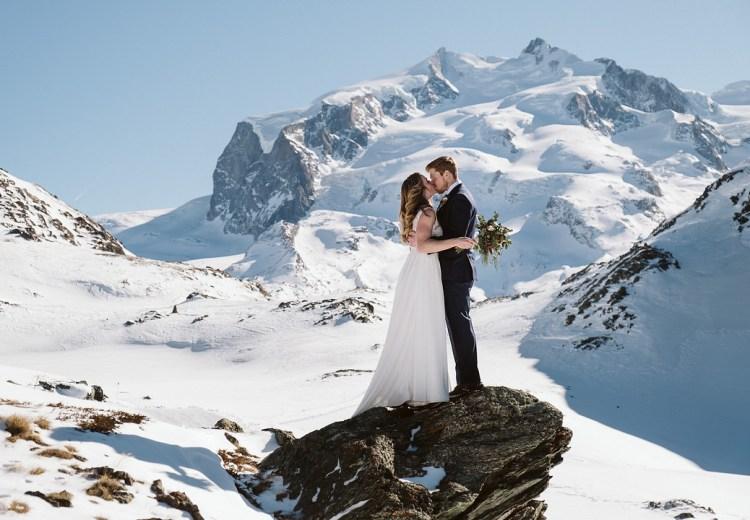 Winter Elopement in Zermatt