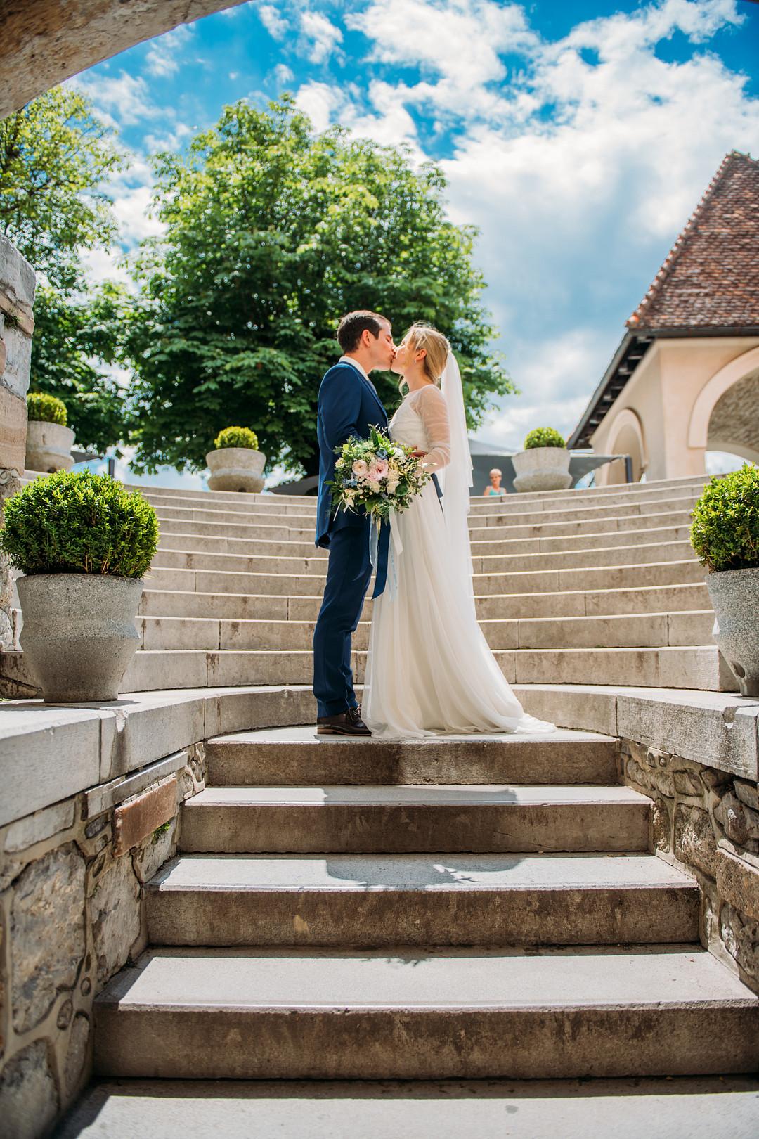 Wedding on Lake Bled, Intimate Destination Wedding on Lake Bled
