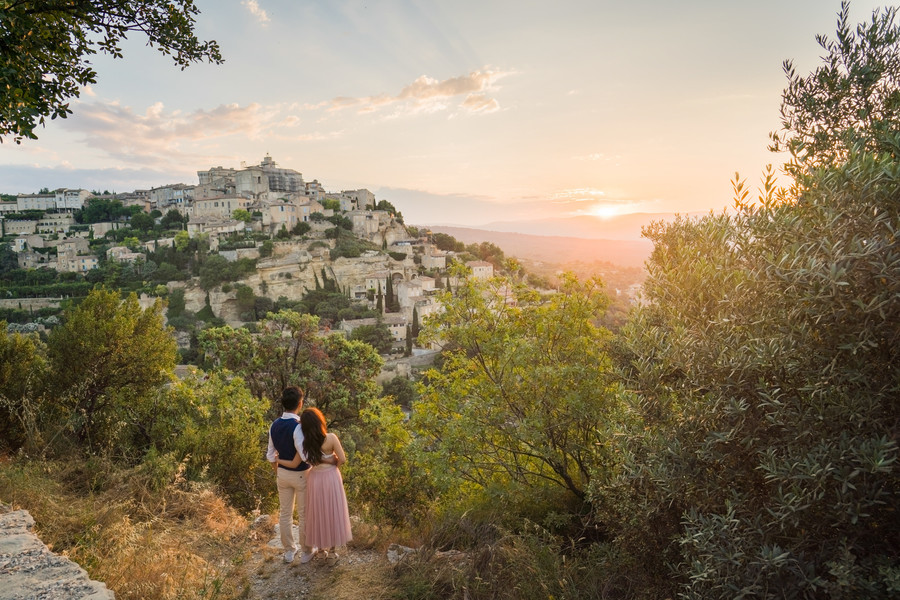 Couples Photoshoot in Provence