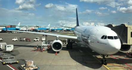 Air Transat vlucht naar Canada Business Class Upgrade