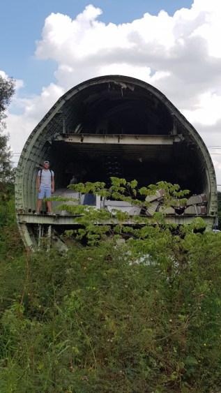 Airplane Graveyard Bangkok in vliegtuig