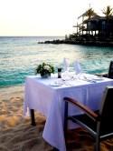 Avila hotel in Curacao strand diner