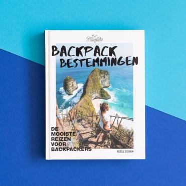 Backpack Bestemmingen boek